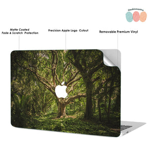 Majestic Tree Macbook Skin Decal