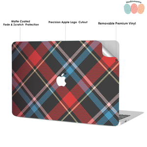 Plaid and Simple 1 Macbook Skin Decal