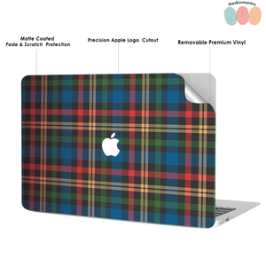Plaid and Simple 2 Macbook Skin Decal