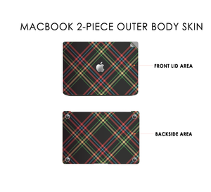 Plaid and Simple 3 Macbook Skin Decal
