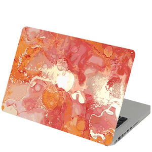 Amber Spill Macbook Skin Decal