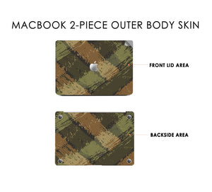 Wild Camo Macbook Skin Decal