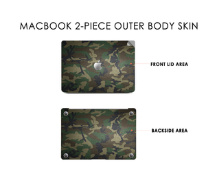 Camo Flow Macbook Skin Decal