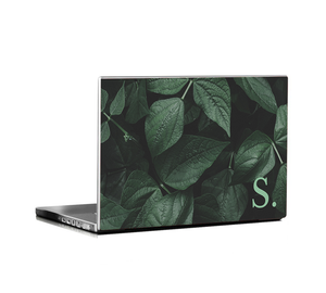 LETTER ON A LEAF DFY Universal Size Laptop  Skin Decal