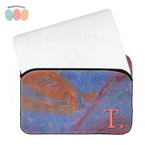 ABSTRACTED WALL DFY Laptop Macbook Sleeve Bag FLAP
