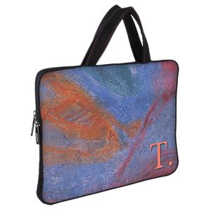 Abstracted Wall DFY Chain Pouch Laptop Macbook Sleeve