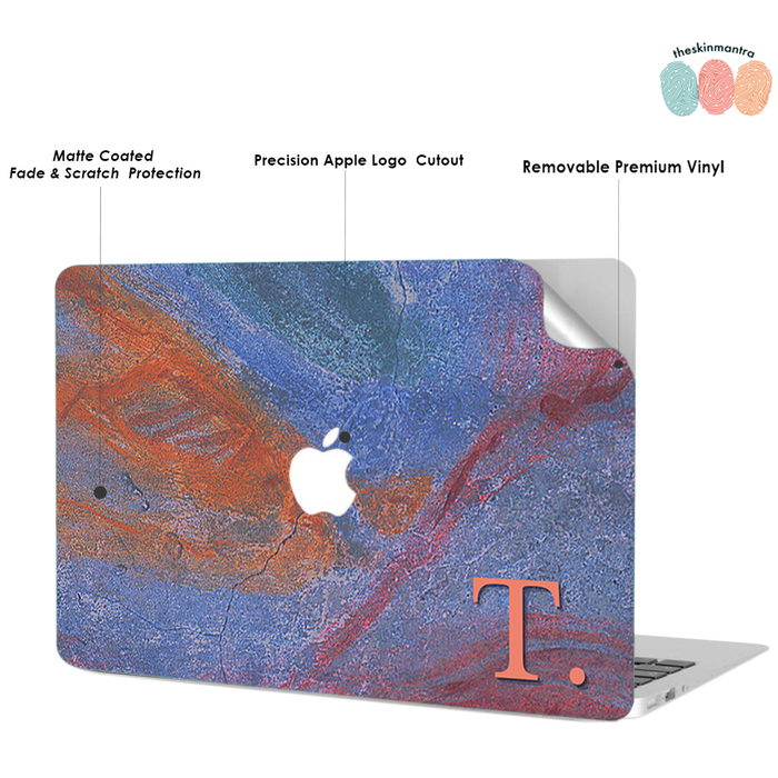 ABSTRACTED WALL DFY Macbook Skin Decal