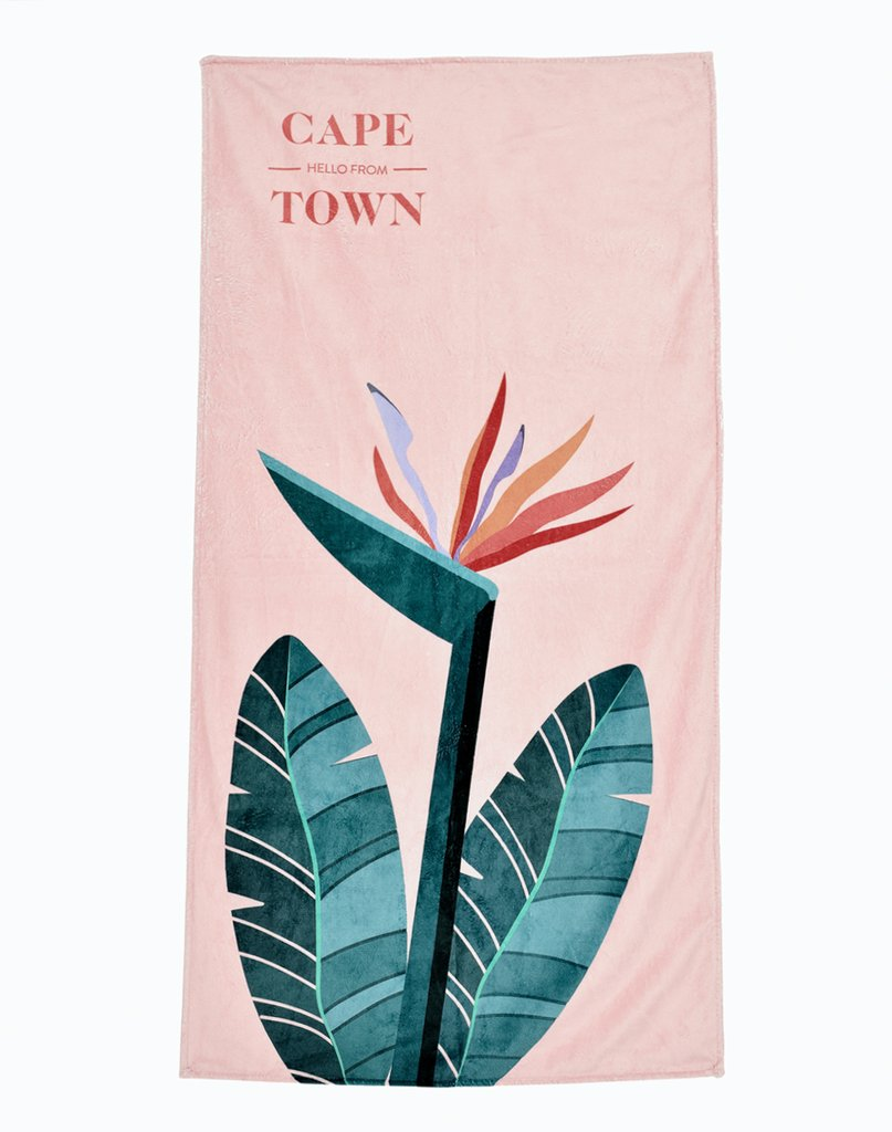 Beautiful beach towels