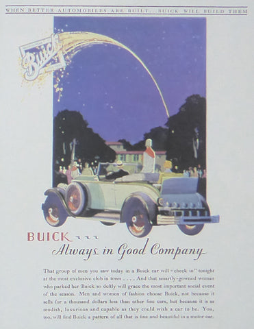 Buick always in good company