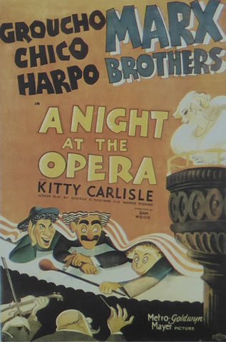 A Night at the Opera The Marx Brothers