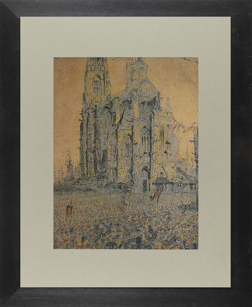 The Cathedral, 1886/1933 Ensor