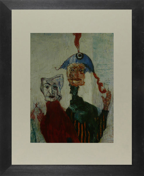 The Strange Masks   1892 Ensor