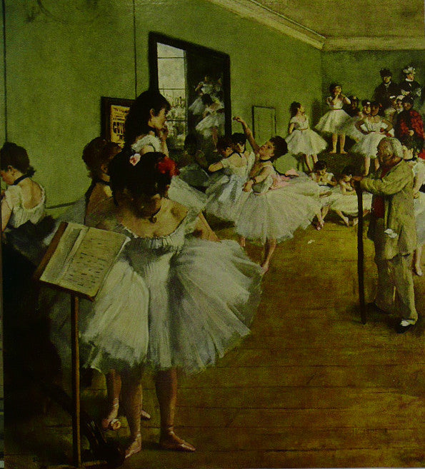 The Dancing Class Degas