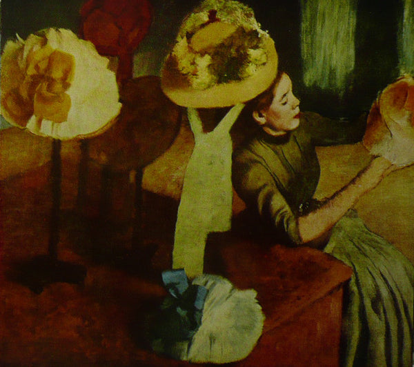 The Millinery Shop Degas