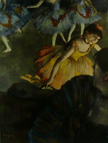 A Ballet Seen From An Opera Box Degas