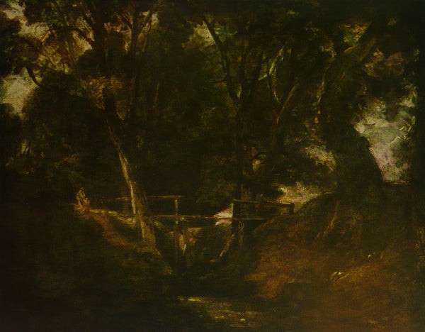 Dell Scene In The Park At Helmingham Constable