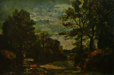 A Country Lane Constable