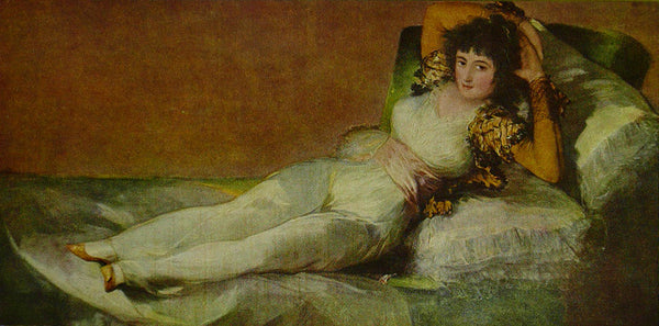 The Maja Clothed Goya