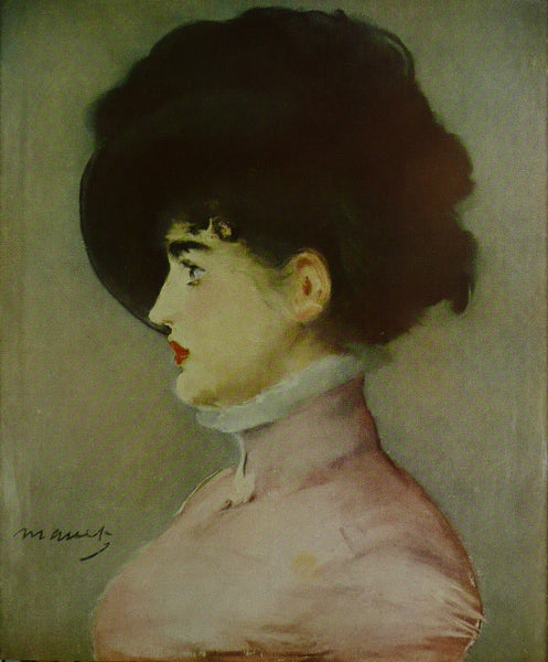Portrait Of Irma Brunner Manet