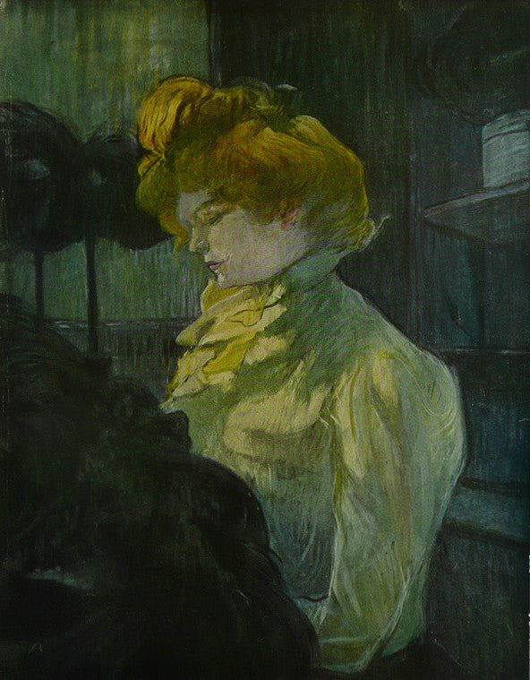 The Modiste   Toulouse Lautrec