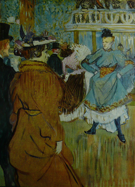Moulin Rouge The Start Of THE Quadrille   Toulouse Lautrec