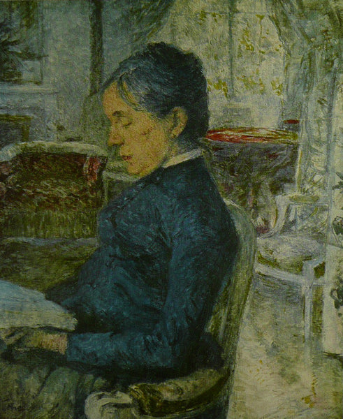 Portrait Of THe Artists Mother   Toulouse Lautrec