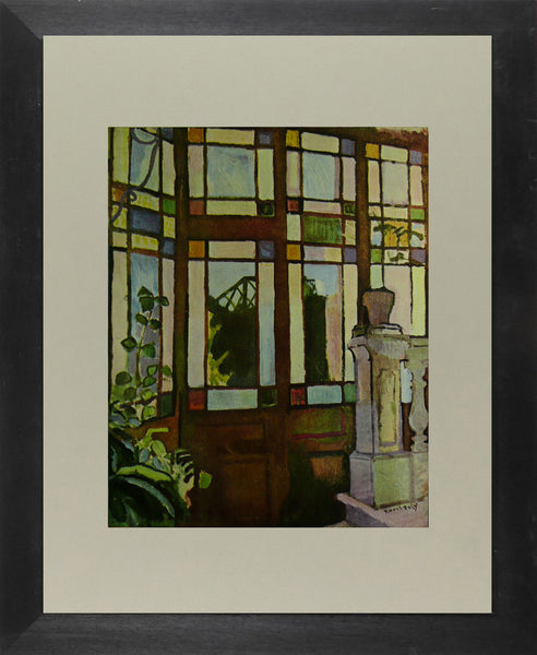 Window With Coloured Panes   Dufy