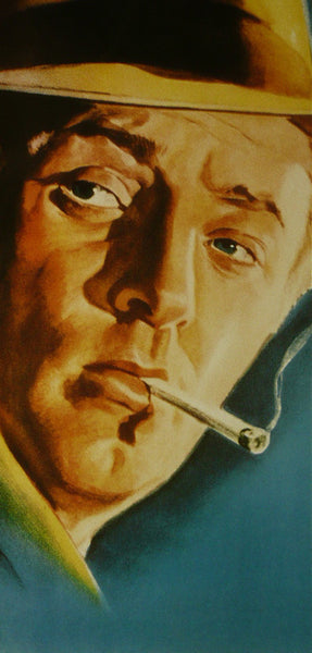 Robert Mitchum Detail from Out of the Past Movie Poster