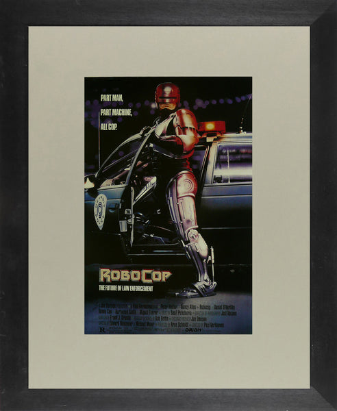 "Robocop - Peter Weller - Movie Poster Framed Picture 11""x14"""