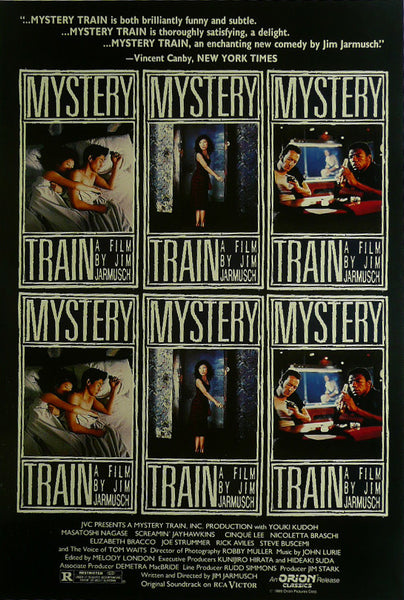 "Mystery Train - Steve Buscemi - Movie Poster Framed Picture 11""x14"""