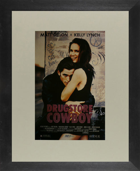 "Drugstore Cowboy - Matt Dillon - Movie Poster Framed Picture 11""x14"""