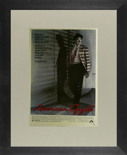American Gigolo Richard Gere Movie Poster