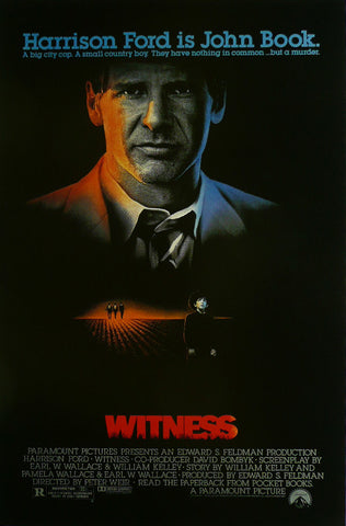 Witness Harrison Ford Movie Poster