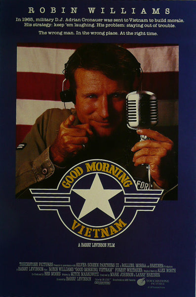 Good Morning Vietnam Robin Williams Movie Poster
