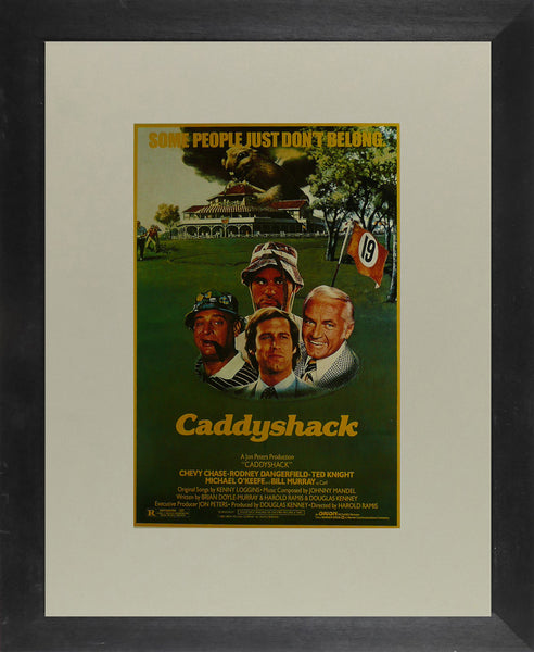 Caddyshack Chevy Chase Movie Poster
