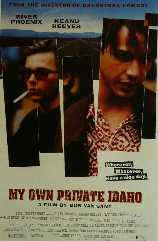 My Own private Idaho River Phoenix Movie Poster