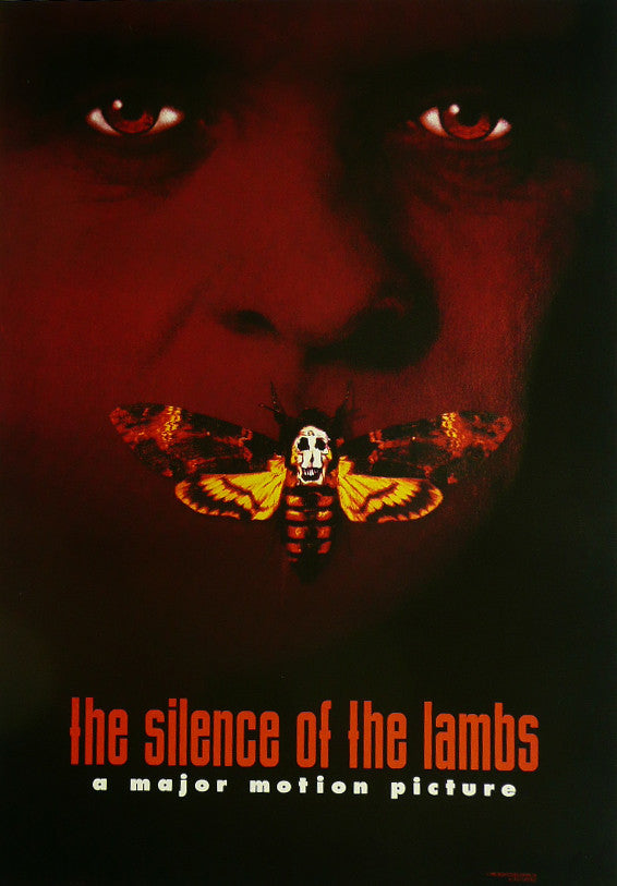 Silence of the Lambs Jodie Foster Movie Poster