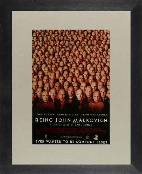 Being John Malkovich John Cusack Movie Poster