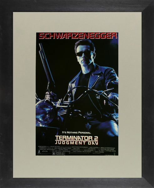 Terminator 2: Judgment Day Arnold Schwarzenegger Movie Poster