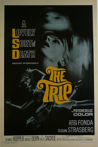 A-lovely-sort-of-death-(The-Trip)--Peter-Fonda---Movie-Poster