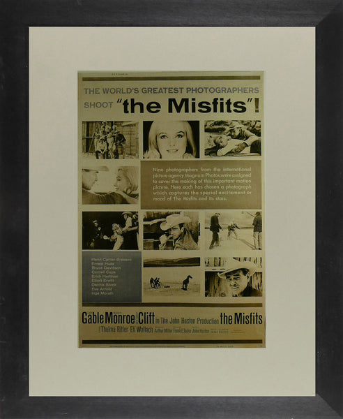 The-Misfits---Clark-Gable-/-Marilyn-Monroe---Movie-Poster