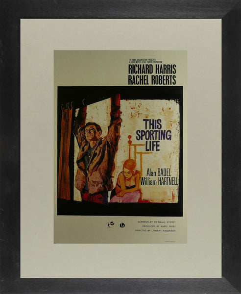 This-Sporting-Life---Richard-Harris-/-Rachel-Roberts---Movie-Poster