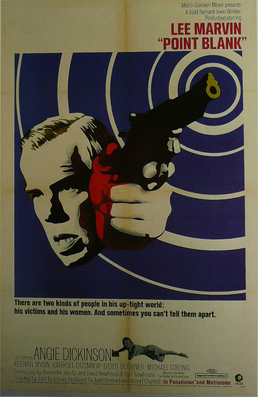 Point-Blank---Lee-Marvin---Movie-Poster