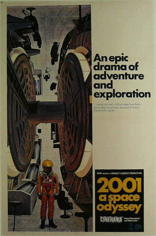 2001-a-space-odyssey---Keir-Dullea-/-Gary-Lockwood---Movie-Poster