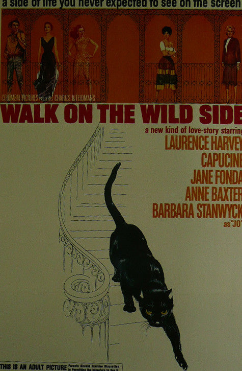 Walk-on-the-Wild-side---Laurence-Harvey---Movie-Poster