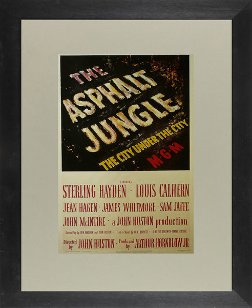 The-Asphalt-Jungle---Sterling-Hayden---Movie-Poster