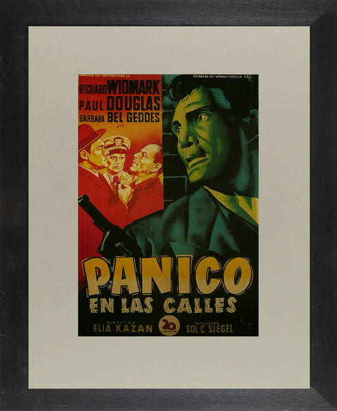 Panic-on-the-Streets---Richard-Widmark-(Spanish)---Movie-Poster
