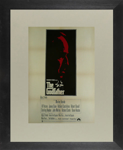 The Godfather Marlon Brando Al Pacino Movie Poster