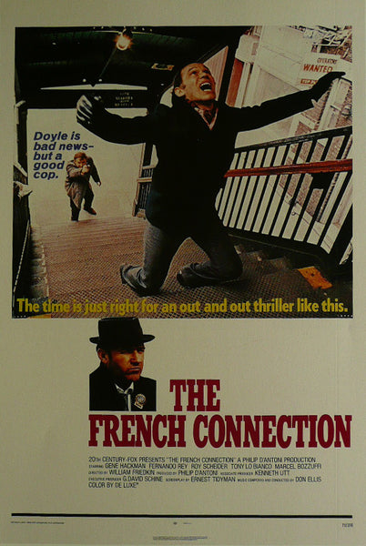 The French Connection Gene Hackman Fernando Rey  Movie Poster