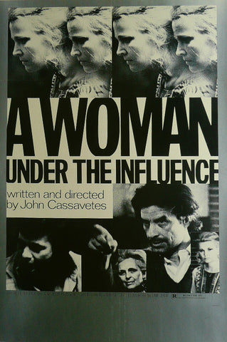 A Woman under the Influence Peter Falk Gina Rowlands Movie Poster